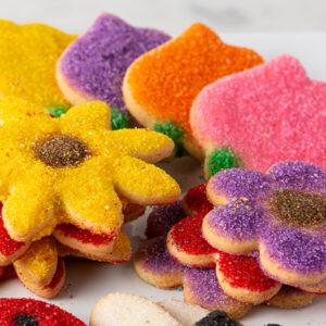 My Most Favorite Food Flower Sugar Cookie Assortment