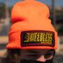 Orange Knit Beanie