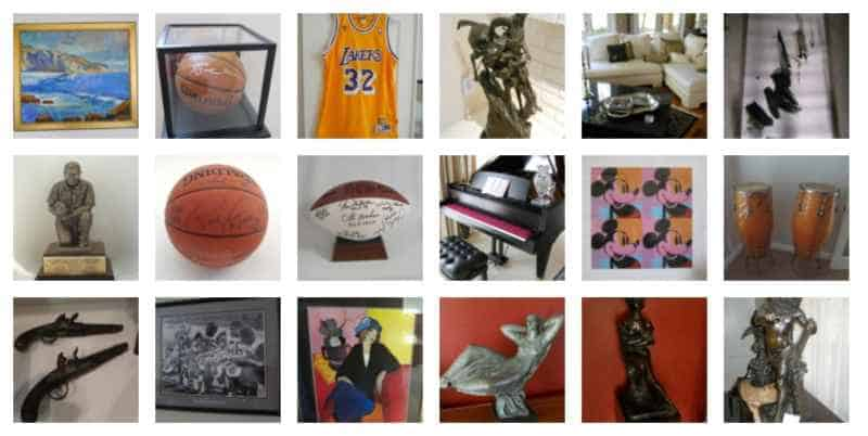 estate sales sold items