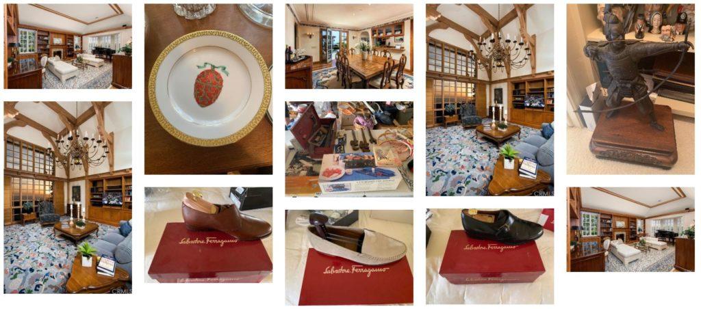sold estate items