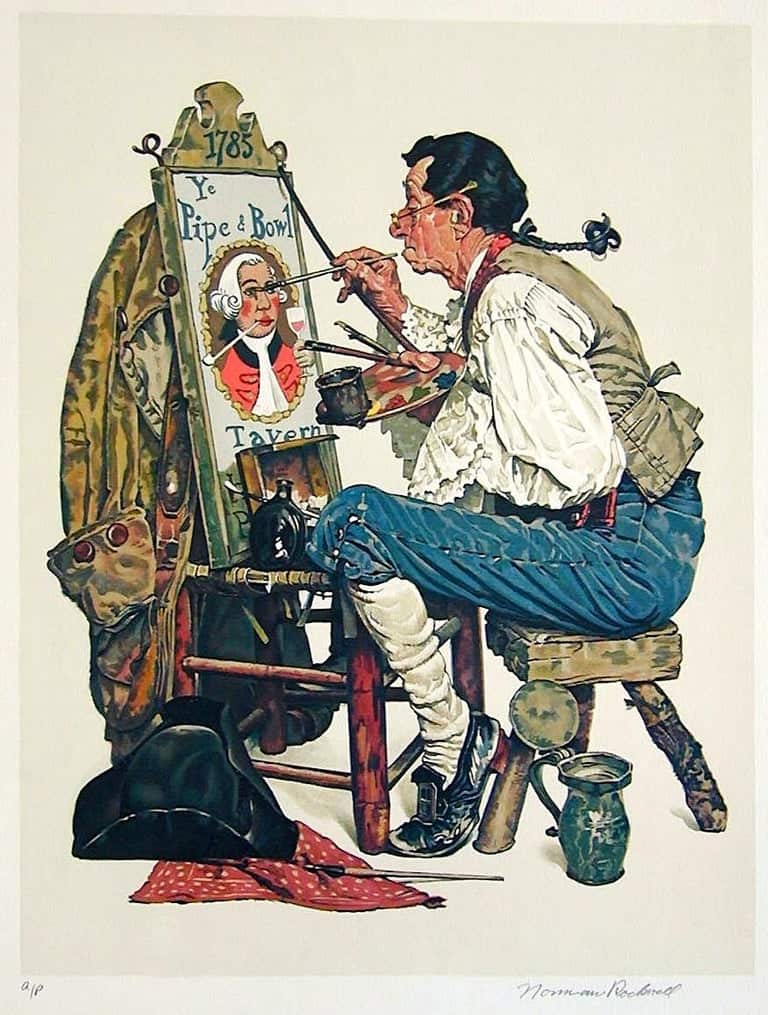 Norman Rockwell collection