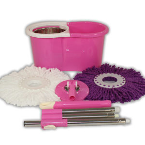 Pink Mop and Bucket Package