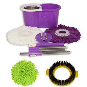 Special Purple Mop and Bucket