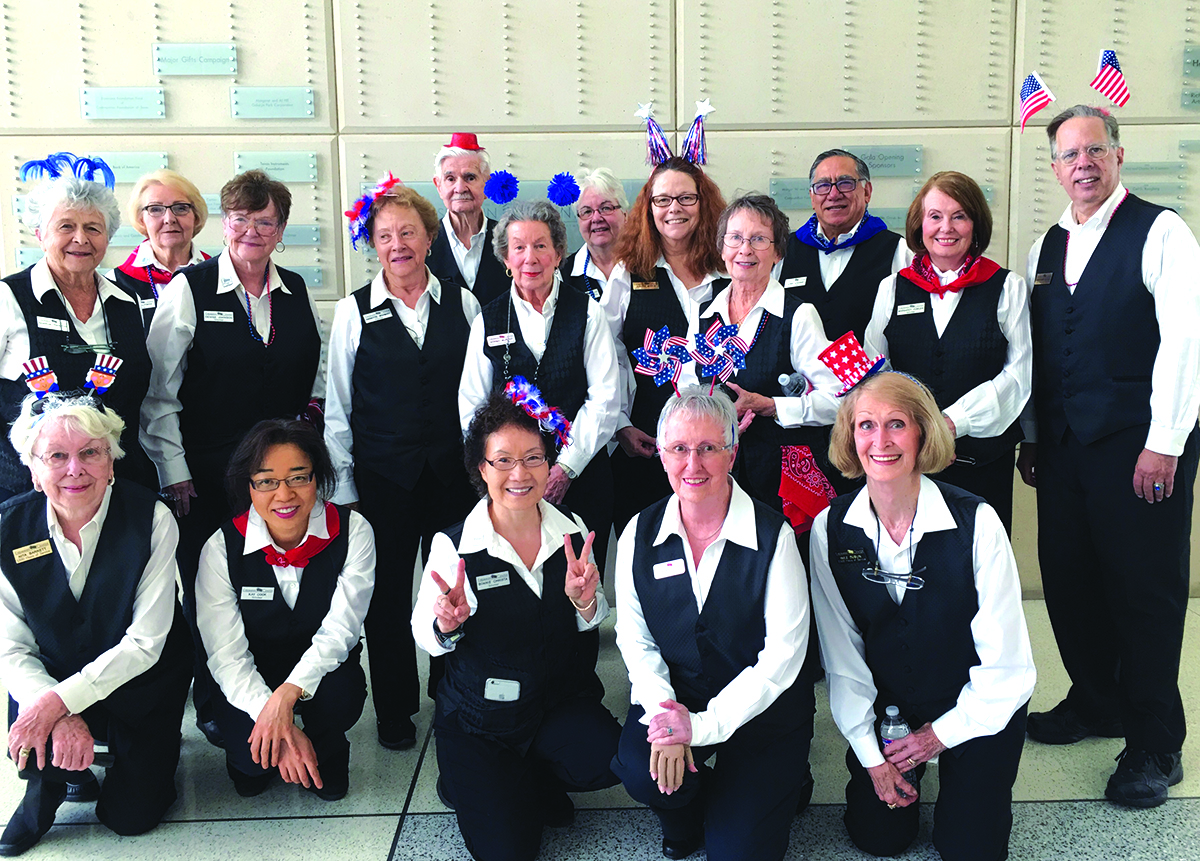 Eisemann Center volunteers get up close and behind the scenes