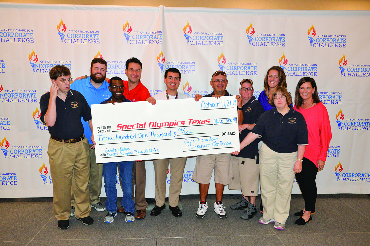 $301,000 raised for Special Olympics Texas