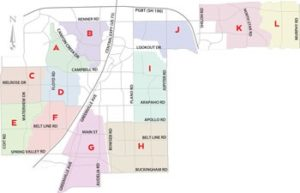 Mosquito Spray Zone Map