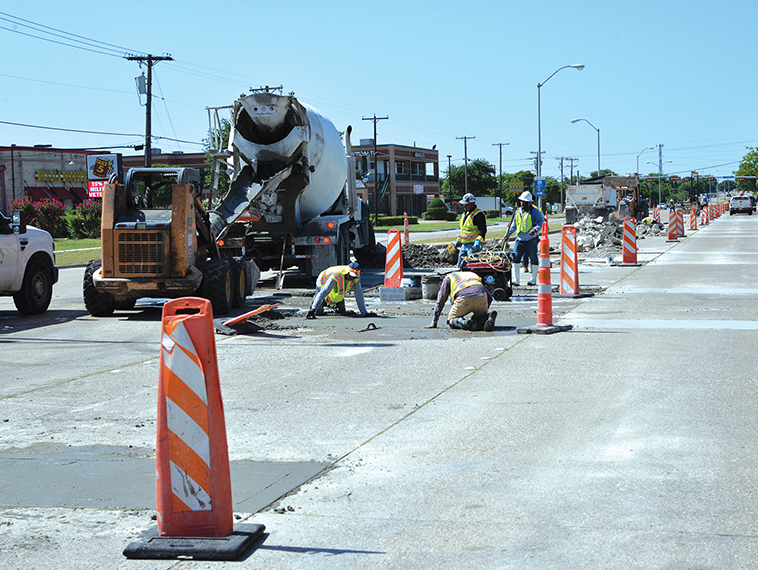Major road project completed; others will soon get underway