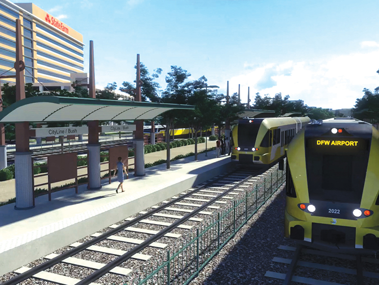 DART Board votes to add second track to Cotton Belt Rail Line