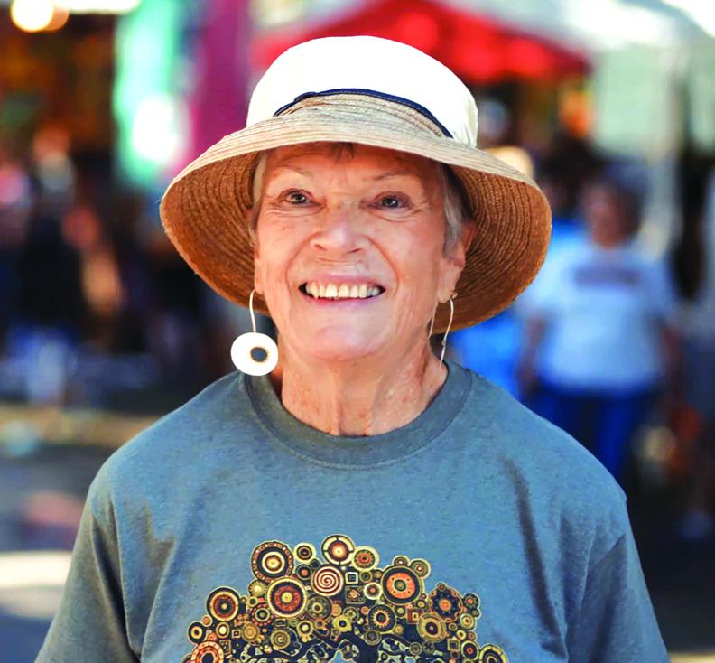 Volunteer's dedication to Cottonwood Art Festival provides a testament to the quality of the event