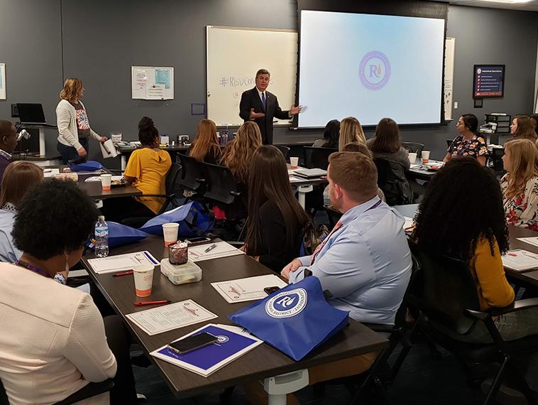 RISD career event introduces prospective teachers to city, school district