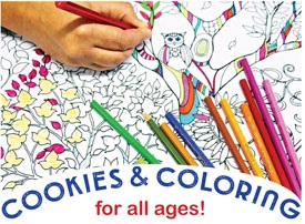 """Cookies, Crafts and Crayons"" Sept. 6"