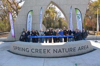 Spring Creek Nature Area Portals Officially Open