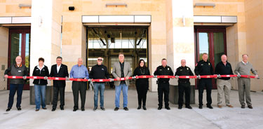 New Fire Station Hosts Uncoupling Ceremony