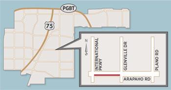 Lane Closure Expected on Arapaho Road