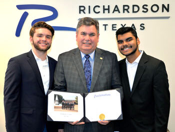 Mayor Honors Teens' Service Work with Proclamation