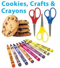 """""""Cookies, Crafts and Crayons"""" Feb. 28"""