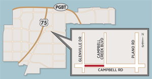 Lanes Closures Planned on Campbell Road Near Glenville Drive
