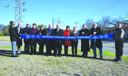 Ribbon cutting held for spring valley road