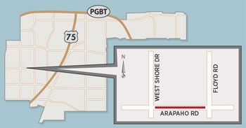 Lane Closures Expected on Arapaho Road Near Heights Park