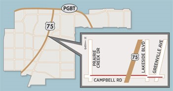 Two Projects to Close Lanes on Campbell Road