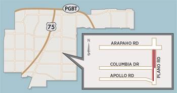 New Lane Closure Expected on Plano Road Near Arapaho Road