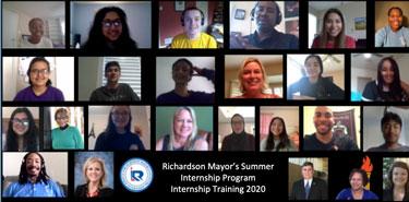 Mayor's Summer Internship Program Holds Virtual Training Sessions