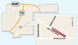 Belt Line Lane Closures