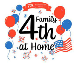 """Family 4th at Home"" Features Several Activities"