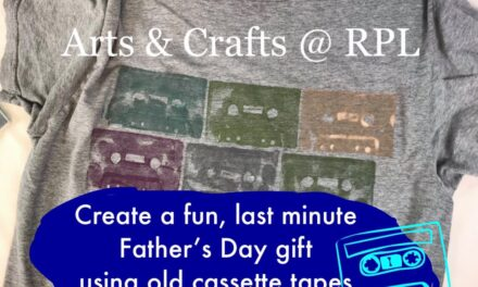 Library Offers Online DIY Videos for Father's Day Gifts and Cards