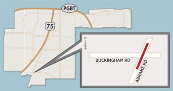 Lane Closures Expected Near Abrams/Buckingham Intersection
