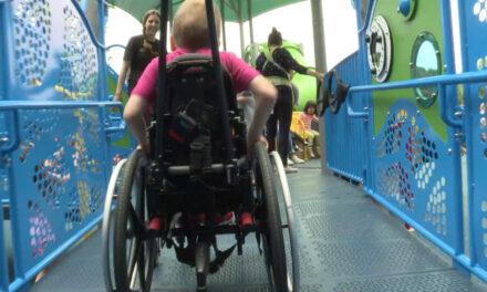Ann Eisemann Inclusive Playground at Cottonwood Park Reopens