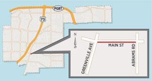 New Main Street Lane Closure