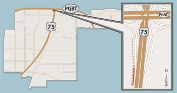 Single Lane of SB Frontage Road, US 75 On Ramp to Close Briefly Near US 75, Bush Turnpike