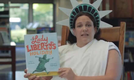 "Library Hosts ""Lady Liberty"" Storytime Online"