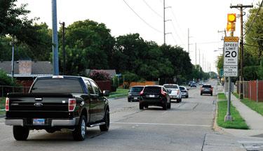 School Zone Crossing Signal Testing Aug. 3-4