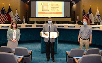 Mayor Signs Proclamation Heralding September Peanut Butter Drive