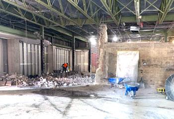 Senior Center Renovations Underway