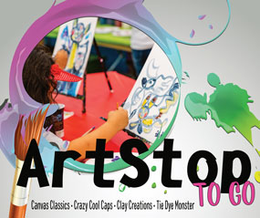 """""""ArtStop To Go"""" Boxes Bring Cottonwood Art Festival to Kids"""