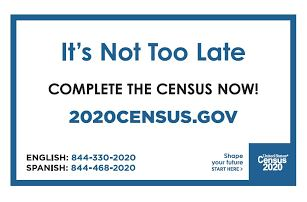 Time is Running Out—2020 Census Data Collection Ends Soon