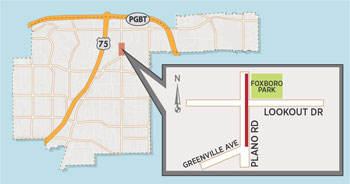 Trail Repair Causes Temporary Lane Closure near Plano Road/Lookout Drive
