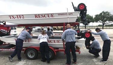 RFD Members of Texas Task Force 2 Deploy to Victoria