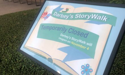 Darbey's StoryWalk® Temporarily Closed