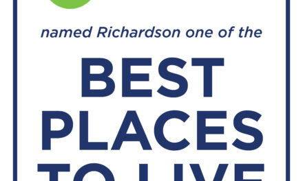"Richardson among ""top places to live"""