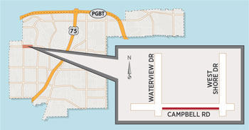 Lane Closure Expected on Campbell Road Near UT Dallas