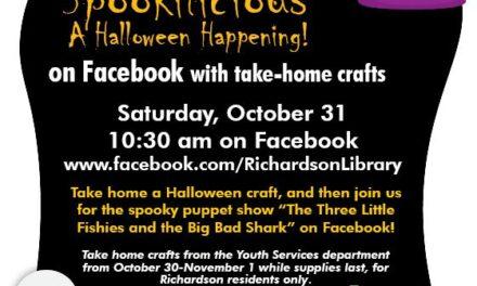 """""""Spookilicious"""" Fun Oct. 30-31"""