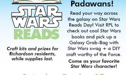 """Star Wars Reads Day"" Oct. 17 Features Freebies and Fun"