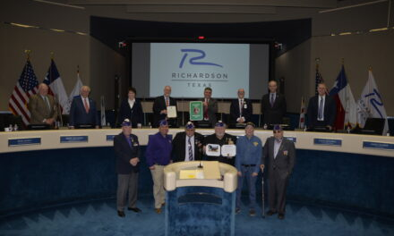 Richardson Designated a Purple Heart City