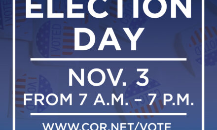today is election day, 7 a.m. – 7 p.m.