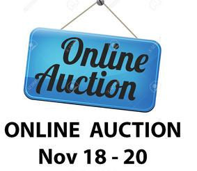 Save the Date: RWC Online Auction Begins Nov. 18