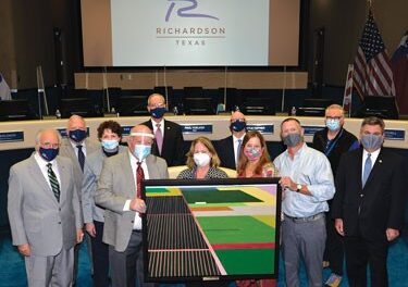RCAS Donates Winning Painting to City